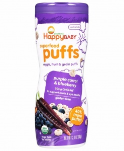 Superfood Puffs-Purple Carrot & Blueberry
