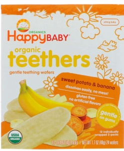 Teething Wafer-Sweet Potato & Banana