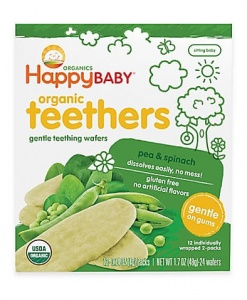 Teething Wafer-Pea & Spinach