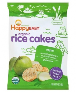 Happy Munchies - Rice Cakes-Apple