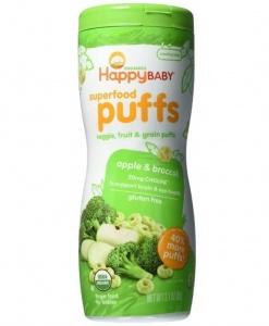 Superfood Puffs-Apple & Broccoli