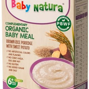 Organic Brown Rice Porridge-Sweet Potato
