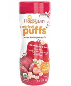 Superfood Puffs-Strawberry & Beet