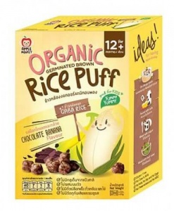 Organic Rice Puff-Chocolate Banana